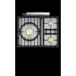 Chambertin Classique 3 Feux - image 1  - pianos-et-fourneaux.com le spécialiste des pianos de cuisine et fourneaux de cuisson Lacanche et Wetshal
