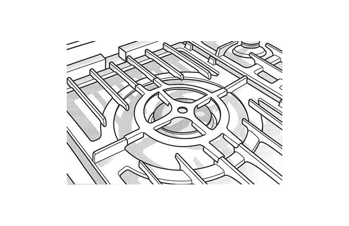 Reducteur Central - lacanche pianos-et-fourneaux.com   - pianos-et-fourneaux.com le spécialiste des pianos de cuisine et fourneaux de cuisson Lacanche et Westhal