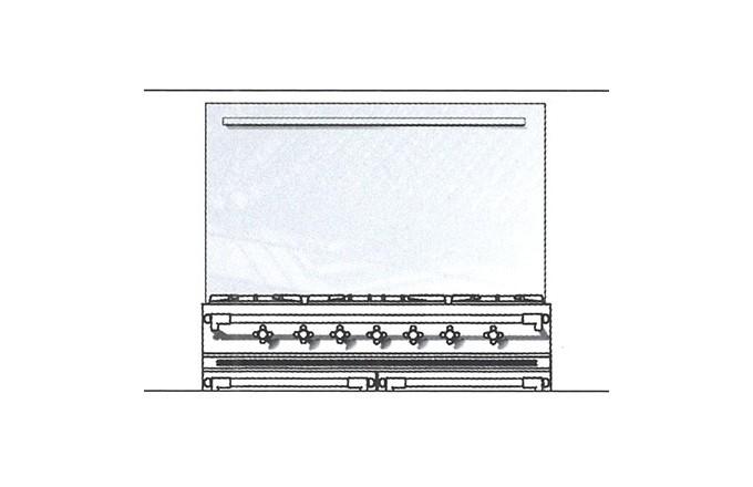Habillages Arrieres Inox 1100 Lcrd  - pianos-et-fourneaux.com le spécialiste des pianos de cuisine et fourneaux de cuisson Lacanche et Westhal