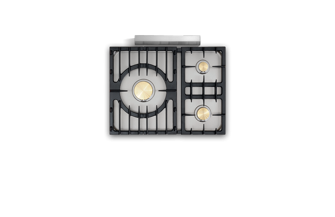 Chambertin Classique 3 Feux Moderne  - pianos-et-fourneaux.com le spécialiste des pianos de cuisine et fourneaux de cuisson Lacanche et Westhal
