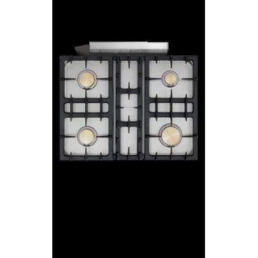 Chambertin Classique 4 Feux Moderne - pianos-et-fourneaux.com le spécialiste des pianos de cuisine et fourneaux de cuisson Lacanche