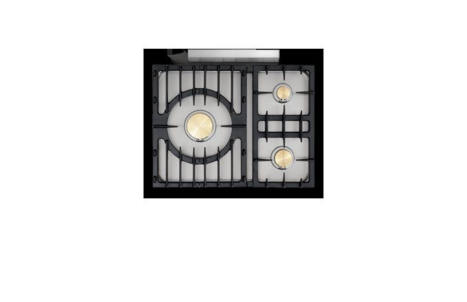 Chassagne Classique 3 Feux Moderne  - pianos-et-fourneaux.com le spécialiste des pianos de cuisine et fourneaux de cuisson Lacanche et Westhal