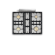 Savigny Classique 4 Feux Moderne - image 1  - pianos-et-fourneaux.com le spécialiste des pianos de cuisine et fourneaux de cuisson Lacanche et Wetshal