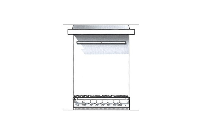 Habillages Arrieres Inox 1000 Lchd  - pianos-et-fourneaux.com le spécialiste des pianos de cuisine et fourneaux de cuisson Lacanche et Westhal
