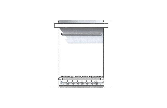 Habillages Arrieres Inox 2200  Lchd  - pianos-et-fourneaux.com le spécialiste des pianos de cuisine et fourneaux de cuisson Lacanche et Westhal