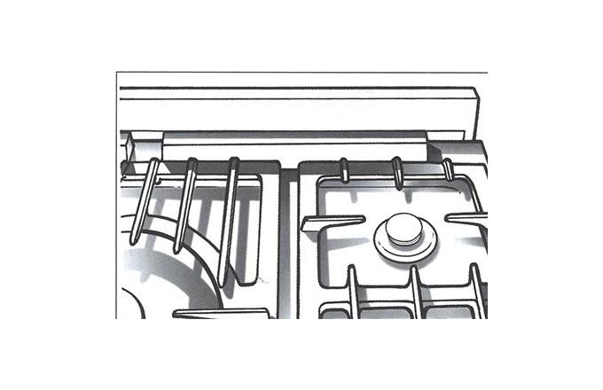Dosserets Arrieres 2200  - pianos-et-fourneaux.com le spécialiste des pianos de cuisine et fourneaux de cuisson Lacanche et Westhal