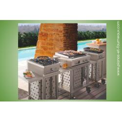 OpenCook - Modules Mobiles - pianos-et-fourneaux.com le spécialiste des pianos de cuisine et fourneaux de cuisson Lacanche