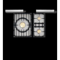 Sully 1800 D Classique Moderne - pianos-et-fourneaux.com le spécialiste des pianos de cuisine et fourneaux de cuisson Lacanche
